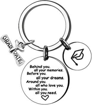 KENYG Graduation Gift Inspirational Key Ring Key