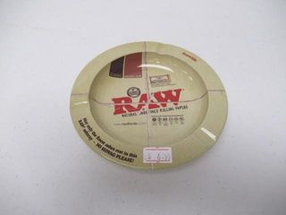 RAW Rolling Papers Ash Tray With Magnetic Base