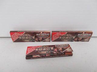 lot Of  3  Packs Juicy Jays Chocolate Flavoured