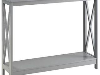 Convenience Concepts Oxford Console Table  Gray