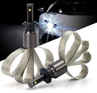 Green l lED Headlight Conversion Kit Copper Heat