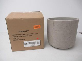 As Is  Abbott 65 QUARRY lG GRY Collection Medium