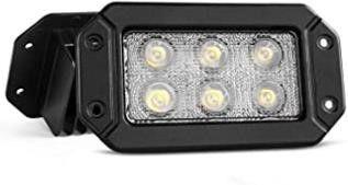 Nilight 2PCS 18w Flush Mount lights Spot Work