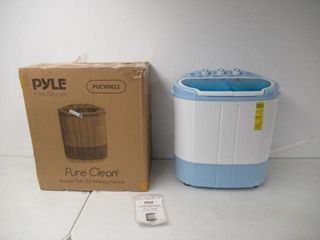Used  PYlE Compact and Portable Washer and Spin