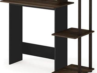 Furinno 11192CWN BR Efficient Home Computer Desk