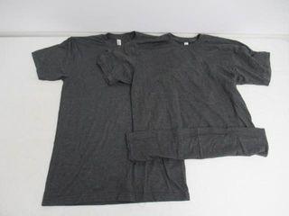 American Apparel Men s Medium 50 50 Crewneck Short