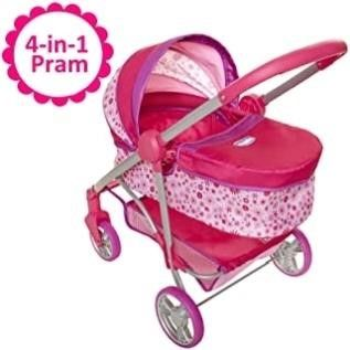 Chicco Baby Doll Stroller  4 in 1 Pram Stroller