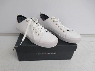 Tommy Hilfiger Women s 8 M US Two Sneaker  White