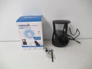 Used  Waterpik Aquarius Water Flosser  Black
