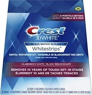Crest 3D White Whitestrips Glamorous White Kit  28