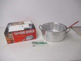 As Is  King Kooker KK2 9 Quart Aluminum Fry Pan