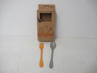 As Is  Knork Eco Togo Ware Reusable Bamboo astrik
