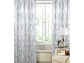 Pennington 84 Inch Rod Pocket Window Curtain Panel