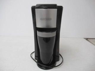 Used  BlACK DECKER Single Serve Coffee Maker