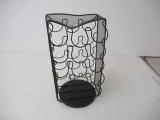 As Is  Mind Reader CRSMESH BlK K Cup Carousel
