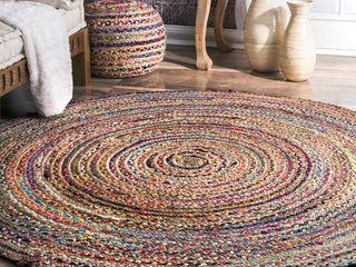 NulOOM 6  Round Multi Aleen Round woven cotton