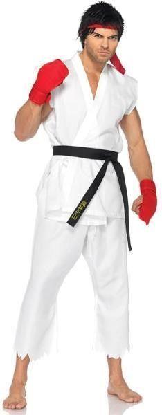 leg Avenue Adult M l Capcom Street Fighter Ryu