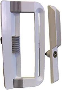 Ideal Security Inc  SK800KBl Patio Door Handle Set