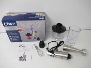 As Is  Oster Hand Blender w  Accessories