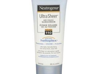 Neutrogena Sunscreen lotion SPF 110  Ultra Sheer