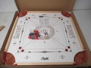 As Is  Pichenottes   Carrom 2 in 1 Wooden Board