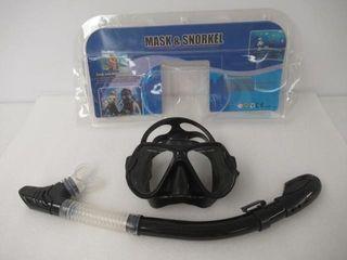 Used  Snorkel Mask Set  Anti Fog and Anti leak