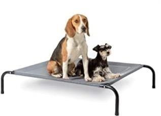 Bedsure Elevated Dog Bed   Medium Raised Dog Cot