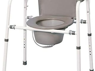 MedPro Homecare Commode Chair with Adjustable