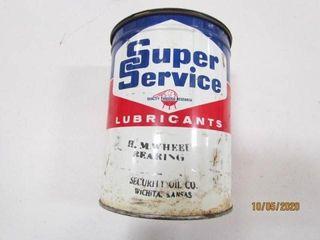 Vintage Super Service lubricants