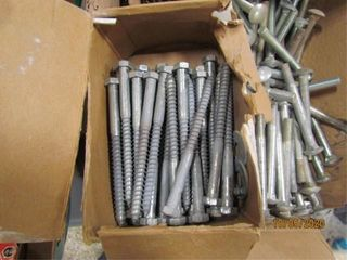 Assorted Carriage and lag bolts