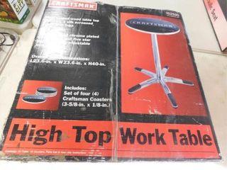 Craftsman high top work table