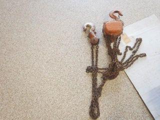 Vital 3 ton Chain Hoist