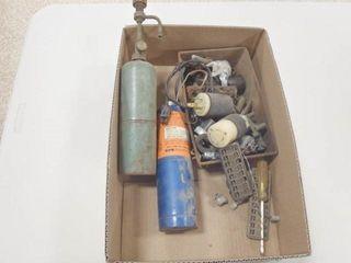 Propane torch  20 amp 250v male and female plugs