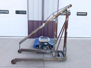 Walker 1 ton cherry picker hydraulic lift