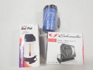 12v Hot Pot  12v Ceramic Heater  Insulated Mug