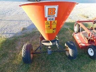 Befco model 106 pull cone fertilizer spreader