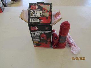 Torin Big Red Bottle jack 2 ton  new