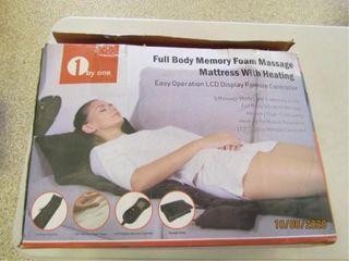 1 by One  Full Body Memory Foam