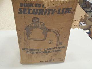 Regent Dusk to Dawn security light