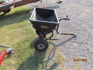 Pricise Fit fertilizer spreader  85 lbs