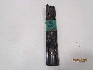 3  15IJ Mower blades  5 8IJ hole  2 1 2IJ wide