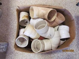 4IJ PVC sewer and drain fittings  90s 45s
