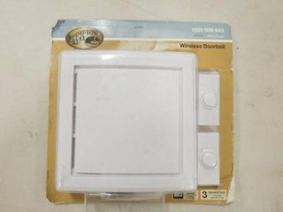 Hampton Bay wireless doorbell  1003 008 643
