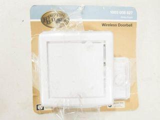 Hampton Bay Wireless Doorbell  3 tunes