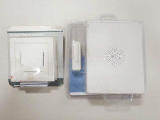 2  Wireless Plug in Doorbells