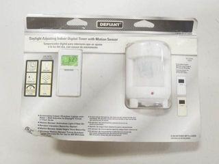 Defiant Daylight Adjusting Indoor Digital Timer
