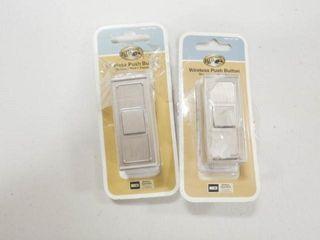 2  Hampton Bay Wireless Push Button