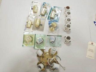 6  lamp Socket   8  light Socket  and Four bulb