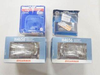 2  Sylvania H4656 headlight