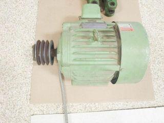 US Electric motor 230 460V  3 phase  6 Hz